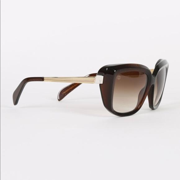 57d4c5ee39e5 Louis Vuitton Accessories - Louis Vuitton Scarlet gold brown sunglasses.